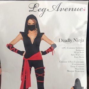 Leg avenue ninja costume